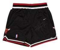 Michael Jordan Signed Bulls Basketball Shorts (UDA COA) at PristineAuction.com