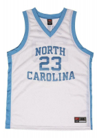 Michael Jordan Signed North Carolina Tar Heels LE Career Highlight Stat Jersey (UDA COA) at PristineAuction.com