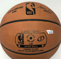 """Zion Williamson Signed Official NBA Game Ball Basketball Inscribed """"2019 #1 Draft Pick"""" (Fanatics Hologram) at PristineAuction.com"""