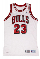"Michael Jordan Signed Bulls LE Jersey Inscribed ""11/1/94"" (UDA COA) at PristineAuction.com"