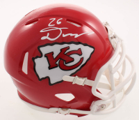 Damien Williams Signed Chiefs Super Bowl LIV Logo Speed Mini Helmet (Beckett COA) at PristineAuction.com