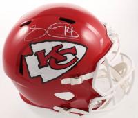Sammy Watkins Signed Chiefs Super Bowl LIV Champions Full-Size Speed Helmet (Beckett COA) at PristineAuction.com