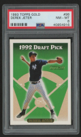 Derek Jeter 1993 Topps Gold #98 RC (PSA 8) at PristineAuction.com