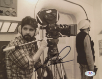"""George Lucas Signed """"Star Wars"""" 8x10 Photo (PSA COA) at PristineAuction.com"""