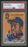 Hank Aaron 1954 Topps #128 RC (PSA Authentic) at PristineAuction.com