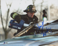 "David Eigenberg Signed ""Chicago Fire"" 8x10 Photo (Beckett COA) at PristineAuction.com"