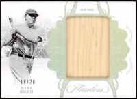 Babe Ruth 2018 Panini Flawless Jumbo Legends Relics #JLBR at PristineAuction.com