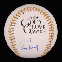 Greg Maddux Signed Gold Glove Award Baseball (PSA COA) at PristineAuction.com
