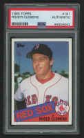 Roger Clemens 1985 Topps #181 RC (PSA Authentic) at PristineAuction.com