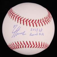 """Nico Hoerner Signed OML Baseball Inscribed """"2018 1st Round Pick"""" (JSA COA) at PristineAuction.com"""