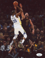 Kevin Durant Signed Warriors 8x10 Photo (JSA COA) at PristineAuction.com