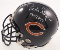 "Gale Sayers Signed Bears Mini Helmet Inscribed ""HOF 1977""  (JSA COA) at PristineAuction.com"