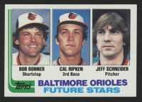1982 Topps #21 Bob Bonner RC / Cal Ripken RC / Jeff Schneider RC at PristineAuction.com