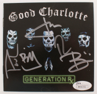 """Good Charlotte """"Generation RX"""" CD Booklet Signed by (5) with Joel Madden, Benji Madden, Paul Thomas, Billy Martin (JSA COA) at PristineAuction.com"""
