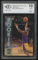 Kobe Bryant 1996-97 Stadium Club Rookies 2 #R9 (BCCG 10) at PristineAuction.com