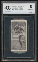 Jesse Owens 1939 Churchman's Kings of Speed #45 (BCCG 8) at PristineAuction.com