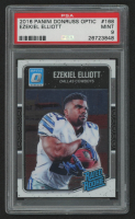 Ezekiel Elliott 2016 Donruss Optic #168 RR RC (PSA 9) at PristineAuction.com