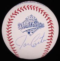 Joe Carter Signed 1993 World Series Logo Baseball (JSA COA) at PristineAuction.com