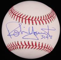 "Robin Yount Signed OML Baseball Inscribed ""3142"" (JSA COA) at PristineAuction.com"