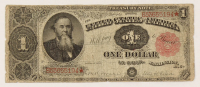 1891 $1 One-Dollar U.S. Treasury Bank Note at PristineAuction.com