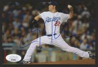Clayton Kershaw Signed Dodgers 4x6 Photo (JSA Hologram) at PristineAuction.com
