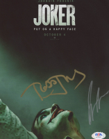 "Joaquin Phoenix & Todd Phillips Signed ""Joker"" 8x10 Photo (PSA COA) at PristineAuction.com"