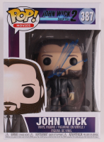 "Keanu Reeves Signed ""John Wick: Chapter 2"" #387 Funko Pop! Vinyl Figure (PSA Hologram) at PristineAuction.com"