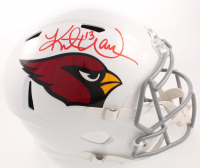 Kurt Warner Signed Cardinals Full-Size Speed Helmet (JSA COA) at PristineAuction.com
