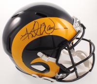 Kurt Warner Signed Rams Full-Size Speed Helmet (JSA COA) at PristineAuction.com