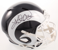 Kurt Warner Signed Rams Full-Size Speed Helmet (JSA COA) at PristineAuction.com