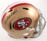 Deebo Samuel Signed 49ers Full-Size Speed Helmet (Beckett COA) at PristineAuction.com