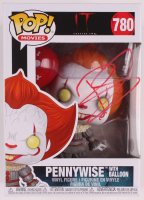 "Bill Skarsgard Signed ""IT Chapter Two"" #780 Pennywise Funko Pop! Vinyl Figure (PSA Hologram) at PristineAuction.com"