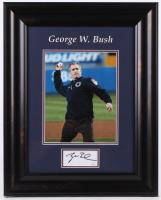 George W. Bush Signed 16.5x20.5 Custom Framed Cut Display (JSA COA) at PristineAuction.com