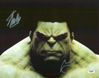 "Stan Lee & Mark Ruffalo Signed ""The Hulk"" 11x14 Photo (PSA COA) at PristineAuction.com"