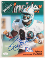 Jason Taylor Signed 1998 NFL Insider Magazine (JSA COA) at PristineAuction.com