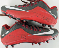 Tyrann Mathieu Signed Pair of (2) Nike Practice-Used Football Cleats (PSA COA) at PristineAuction.com