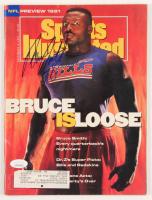 Bruce Smith Signed 1991 Sports Illustrated Magazine (JSA COA) at PristineAuction.com