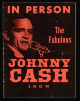 Johnny Cash Signed Authentic Souvenir Program (Beckett COA) at PristineAuction.com