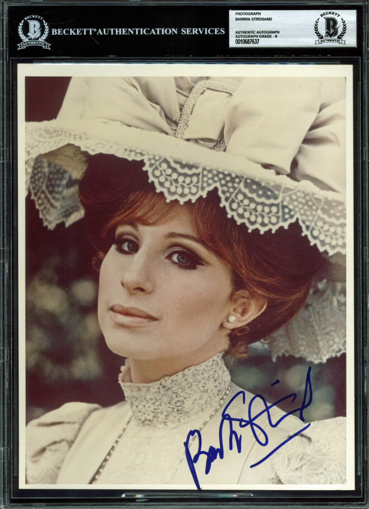Barbra Streisand Signed 8x10 Photo (BGS Encapsulated) at PristineAuction.com