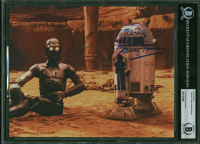 """Anthony Daniels & Kenny Baker Signed """"Star Wars: Episode II – Attack of the Clones"""" 8x10 Photo Inscribed """"C-3PO"""" & """"R2-D2"""" (BGS Encapsulated) at PristineAuction.com"""