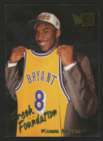 Kobe Bryant 1996-97 Fleer Metal Fresh Foundations #137 RC at PristineAuction.com