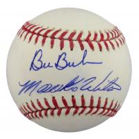 Mookie Wilson & Bill Buckner Signed OML Baseball (JSA COA) at PristineAuction.com