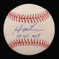 "Hideki Matsui Signed Official Minor League Baseball Inscribed ""09 WS MVP"" (JSA Hologram) at PristineAuction.com"