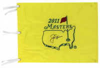 Jack Nicklaus Signed 2011 Masters Tournament Pin Flag (Beckett LOA) at PristineAuction.com