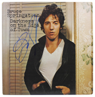 """Bruce Springsteen Signed """"Darkness on the Edge of Town"""" Vinyl Record Album Cover (Beckett LOA) at PristineAuction.com"""