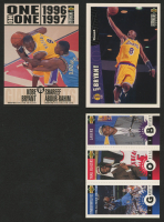 Lot of (3) Kobe Bryant Basketball Cards with 1996-97 Collector's Choice #267 RC, 1996-97 Collector's Choice #361, & 1996-97 Collector's Choice Mini-Cards #M129 at PristineAuction.com