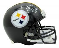 Mason Rudolph Signed Steelers Full-Size Helmet (JSA COA) at PristineAuction.com