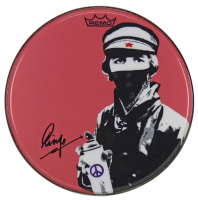 """Ringo Starr Signed The Beatles 14"""" Drum Head (Beckett LOA) at PristineAuction.com"""