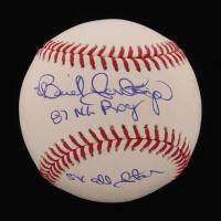 "Benito Santiago Signed OML Baseball Inscribed ""87 NL ROY"" & ""5x All Star"" (MAB Hologram) at PristineAuction.com"