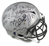 NFL Hall of Famers & Stars Full-Size Authentic On-Field Vengeance Helmet Signed by (27) with Dan Marino, DeMarcus Ware, Herschel Walker, Charles Haley, Morten Andersen, Jerry Rice, Jim Plunkett (Beckett LOA) at PristineAuction.com